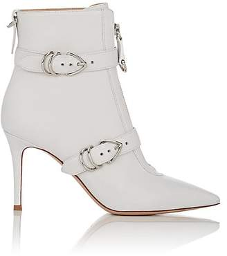 Gianvito Rossi Women's Leather Buckle Ankle Boots