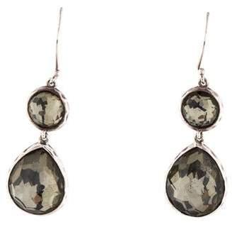 Ippolita Quartz & Pyrite Doublet Rock Candy Drop Earrings