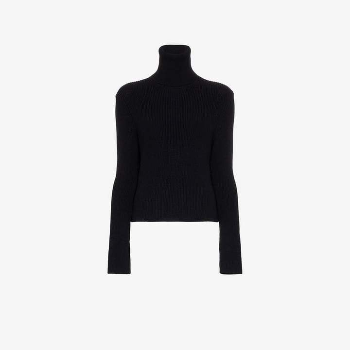 A Plan A_Plan_Application turtle neck ribbed wool jumper
