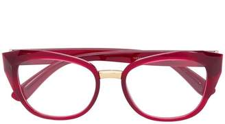 Dolce & Gabbana Eyewear cat-eye frame glasses