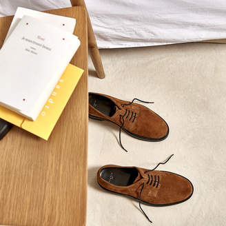 Sandro Suede Derby shoes