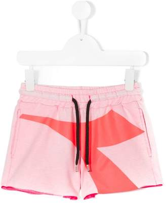 Diadora Junior drawstring logo print shorts