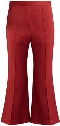 Ellery Bulgaria flared cady trousers