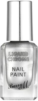 Barry M Cosmetics Liquid Chrome Nail Paint - Rain On Me