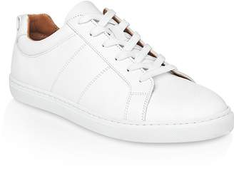Whistles Koki Lizard Embossed Trainers $240 thestylecure.com