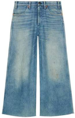 Gucci Denim pant with patches