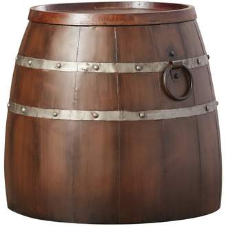 Leila August Grove Wine Barrel End Table