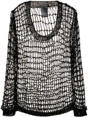 Ann Demeulemeester handknitted sweater