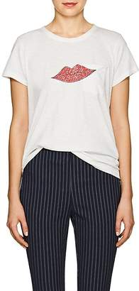 "Rag & Bone Women's ""Lips"" Cotton T-Shirt"