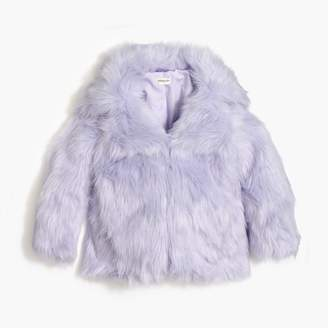 J.Crew Girls' faux-fur coat