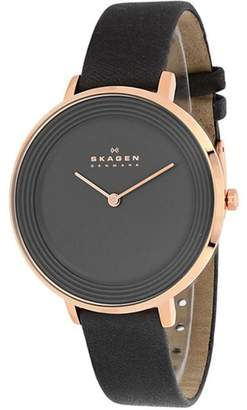 Skagen Ditte Collection SKW2216 Women's Analog Watch $304 thestylecure.com