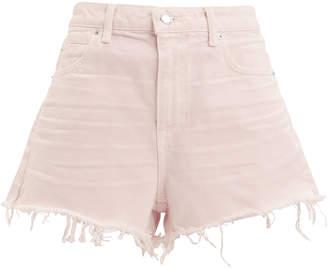 Alexander Wang Bite Pink Frayed Shorts