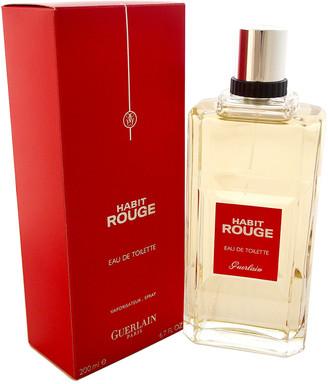 Guerlain Men's 6.7Oz Habit Rouge Eau De Toilette Spray
