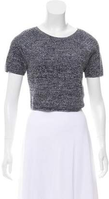 Alice + Olivia Wool Crop Top