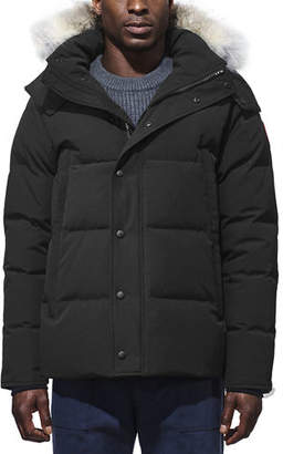Canada Goose Wyndam Down Parka with Fur-Trim Hood