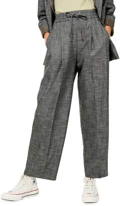 Topshop TALL Wide-Leg Jogger Pants