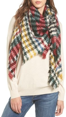 Women's Bp Heritage Houndstooth Square Scarf $29 thestylecure.com