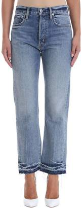 Helmut Lang Crop Straight Jeans