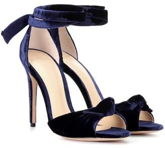 Alexandre Birman Jessica velvet sandals