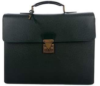 Louis Vuitton Taiga Serviette Kourad Briefcase