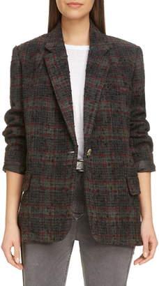 Etoile Isabel Marant Korix Wool Blend Jacket
