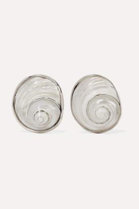 Sophie Buhai - Silver Shell Earrings