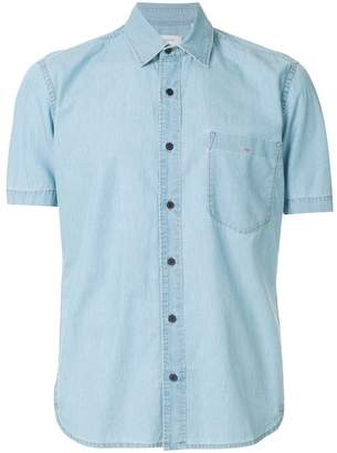Cerruti short sleeve denim shirt