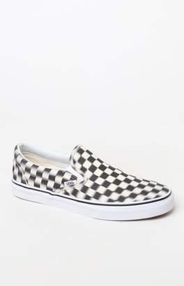 Vans Blur Check Slip-On Shoes