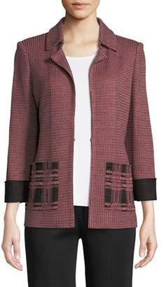 Misook Bracelet-Sleeve Jacket