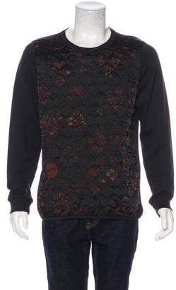 Dries Van Noten Quilted Graphic Sweatshirt w/ Tags