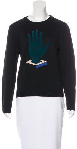 Opening Ceremony Opening Ceremony Wool Crew Neck Sweater