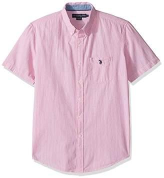 U.S. Polo Assn. Men's Classic Fit Single Pocket Stripe
