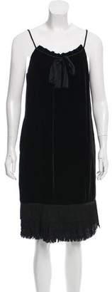 Diane von Furstenberg Velvet Elicia Dress w/ Tags