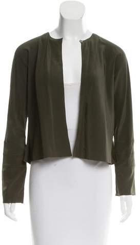 Chanel Silk Long Sleeve Cardigan