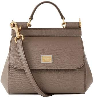 Dolce & Gabbana Mini Leather Sicily Bag