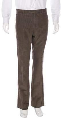 Gucci Flat Front Corduroy Pants
