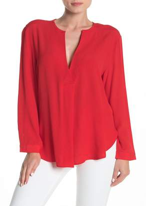 Bishop + Young Long Sleeve Crepe Blouse