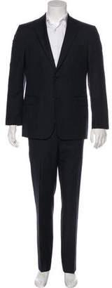 Salvatore Ferragamo Striped Wool Suit