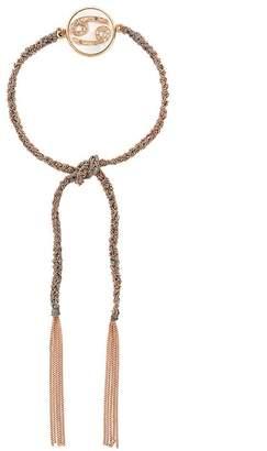 Carolina Bucci 18kt rose gold and diamond Lucky Cancer Zodiac bracelet