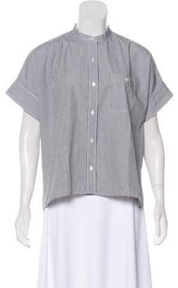 Everlane Striped Button-Up Top