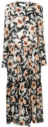Christian Wijnants floral print maxi dress