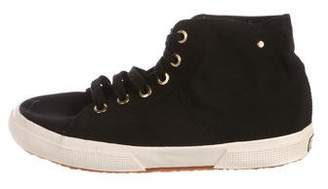 Superga Canvas High-Top Sneakers