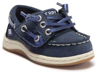 Sperry Songfish Jr. Leather Boat Shoe (Toddler)