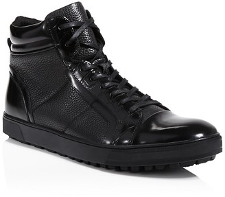 Kenneth Cole Kickoff High Top Sneakers $175 thestylecure.com
