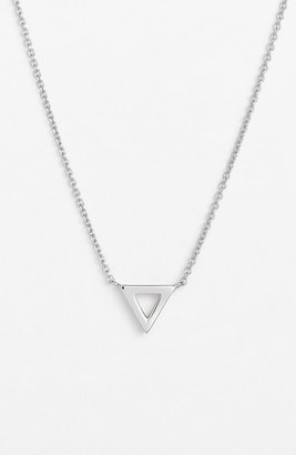 Women's Bony Levy Triangle Pendant Necklace (Nordstrom Exclusive) $298 thestylecure.com