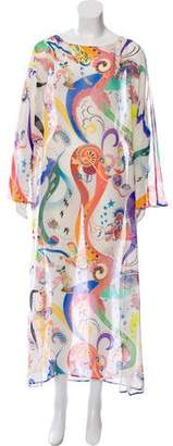 Etro Silk Printed Kaftan