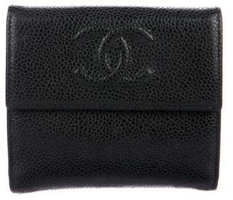Chanel Caviar Timeless French Purse Wallet