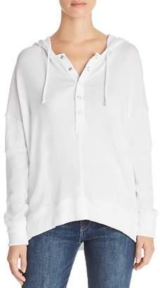 Chaser Henley Hooded Sweatshirt