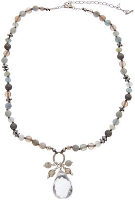 Chan Luu Silver Gemstone & Crystal Necklace