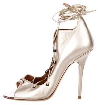 Malone Souliers Savannah Lace-Up Sandals